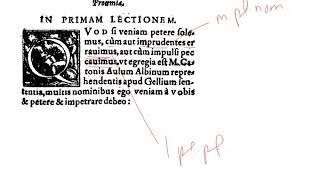 LatinPerDiem Latin Lessons: Olympia Morata In Ciceronis Paradoxa 2