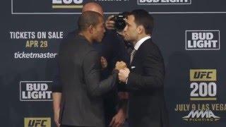 UFC 200: Jose Aldo vs. Frankie Edgar Staredown