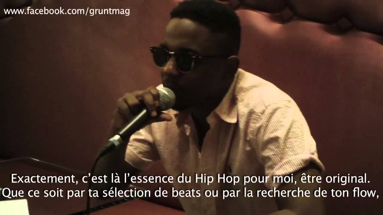Kendrick Lamar x Grünt l Interview
