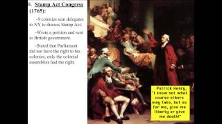 R2R - Lecture 2 - Stamp Act to Townshend Act