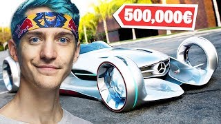 Die 5 Teuersten Autos von Fortnite YouTubern (Standart Skill ICrimax Ninja)