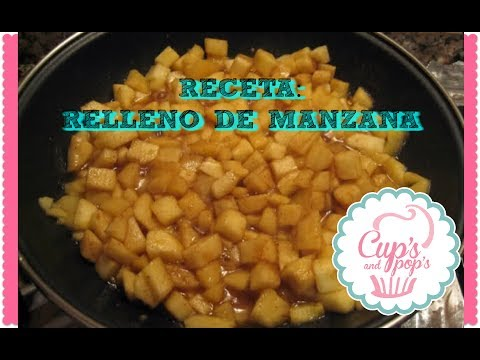 Relleno De Manzana Para Pie Youtube