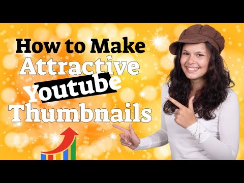 How to make attractive youtube thumbnails - how to make easy and attractive youtube thumbn