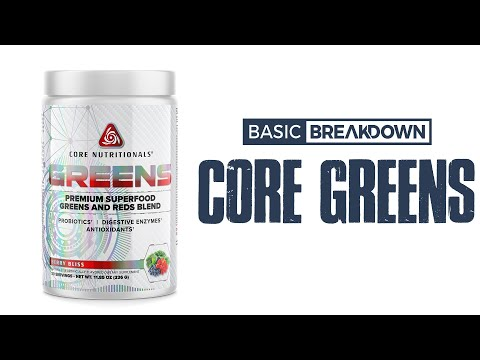 Core Nutritionals Greens Superfood Supplement Review | Basic Breakdown