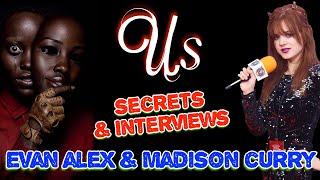 "Secrets of Jordan Peele's ""Us"" Horror Film | Evan Alex & Madison Curry"