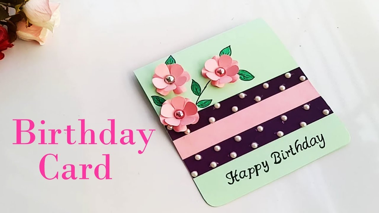 How To Make Birthday Special Card For Sister DIY Gift Idea