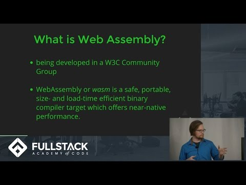 Tech Talk: Web Assembly (and You!)