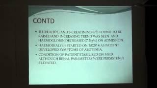 Part 1 Good Pasture's Syndrome Central Hospital garden Reach Dr A P Pattnaik 2762