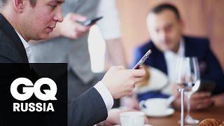 Герои GQ тестируют самый мощный смартфон Vertu – Signature Touch