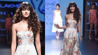 Disha Patani Walks At Lakme Fashion Week 2017