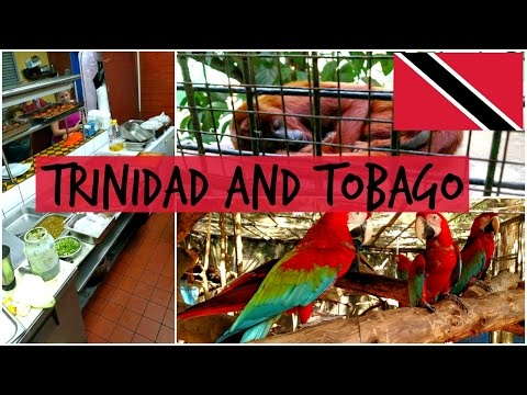 TRINIDAD AND TOBAGO: Port of Spain, the Zoo, and Exploring!