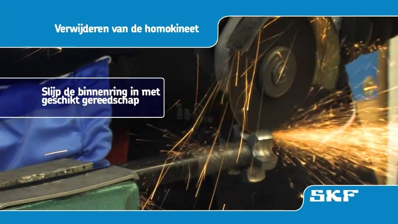 Skf Montageprocedure Van De Nieuwe Homokineet Vkja 3867