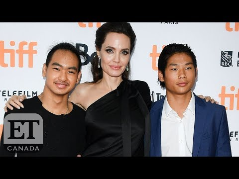 Angelina Jolie On Working With Her Children