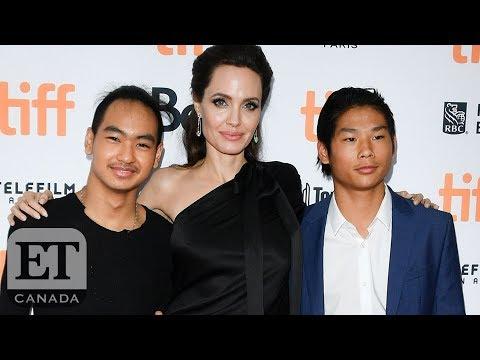 Angelina Jolie On Working With Her Children