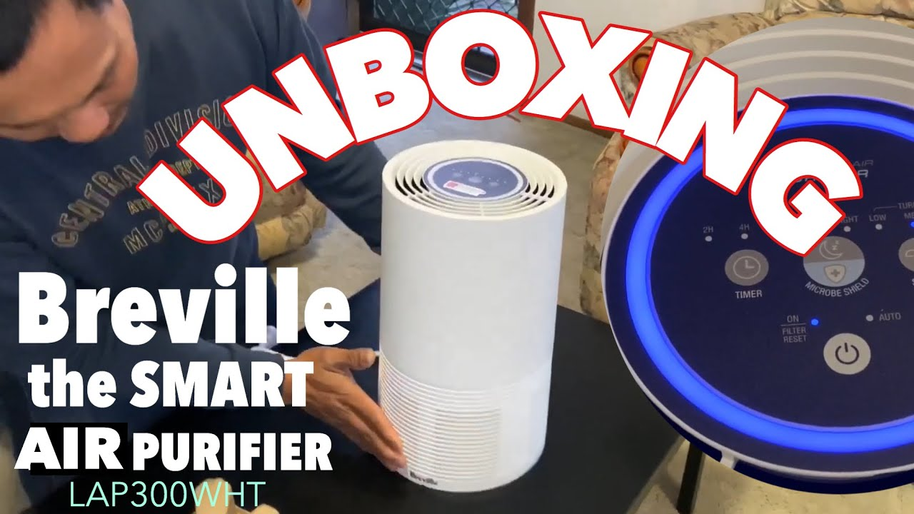 Unboxing Breville The Smart Air Purifier Nickkaboo Youtube