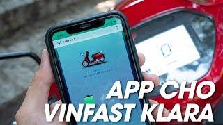 """""""Trên tay"""" ứng dụng cho xe điện Vinfast Klara - Có thêm đèn tự động   Xe.tinhte.vn"""