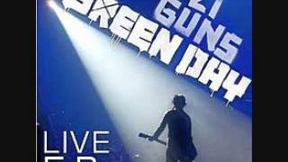 Green Day - F.O.D. (Live) 21 Guns Live EP