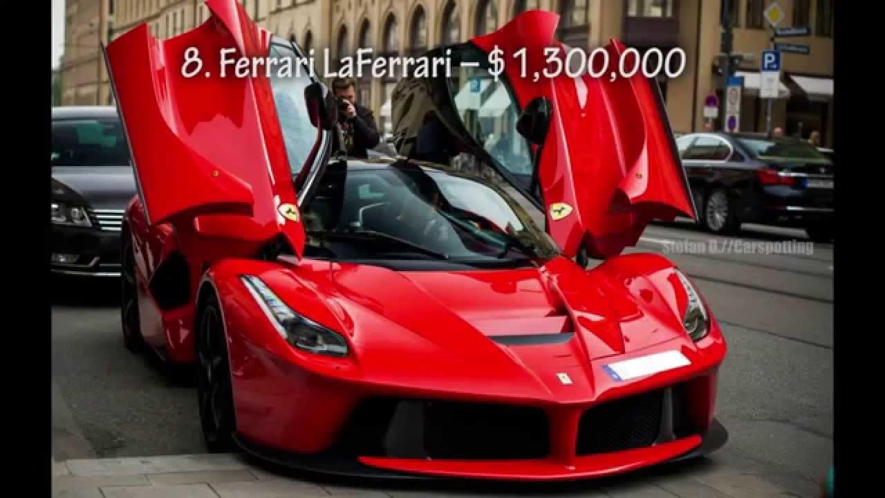 10 Most Expensive Sports Cars In The World   YouTube