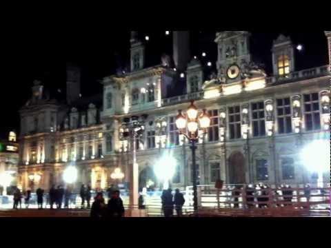 January 4, 2012 Paris City Hall Sparkly.MOV