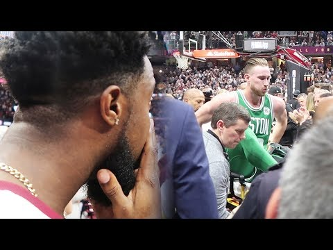 WITNESSING GORDON HAYWARD PAIN COURTSIDE AT THE CAVS VS CELTICS OPENING GAME!