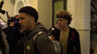 THE BALL BROTHERS ARRIVE IN LITHUANIA