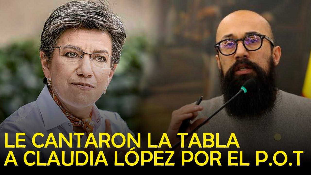 CLAUDIA QUEDÓ EN EVIDENCIA / CIUDADANOS LE RECLAMAN POR P.O.T