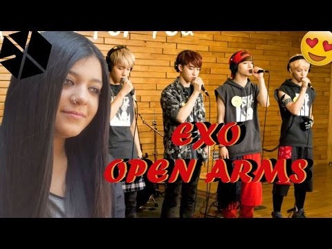 EXO OPEN ARMS (Global Request Show : A Song For You - Open Arms) REACTION/REACCIÓN