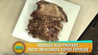 Receta Express: Tacos Mexicanos - Morfi