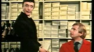 I skoaffären (ur Vitsuellt 1980)