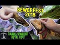 TOURING SEWERFEST REPTILE EXPO! (August, 2018)