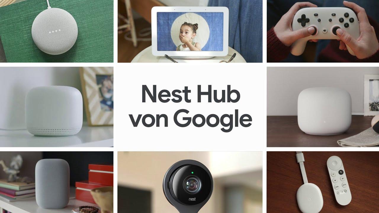 Nest Hub (2. Generation) von Google – Musik, Serien, Smart Home. Einfach auf einen Blick.