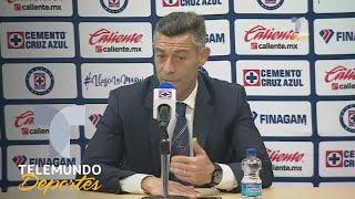 Cruz Azul vs. Lobos BUAP: Caixinha aplaude primer tiempo de Cruz Azul | Liga MX | Telemundo Deportes