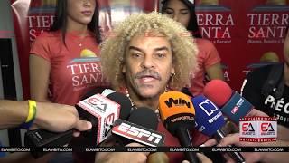 COLOMBIA VS PARAGUAY, PIBE  VALDERRAMA OPINANDO EN 2017