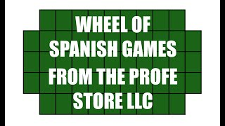 Wheel of Spanish Preview