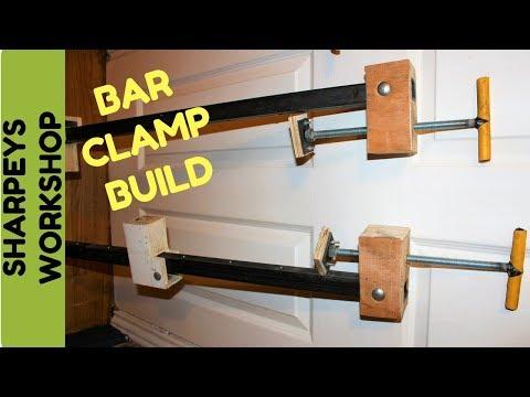Easy diy bar clamps