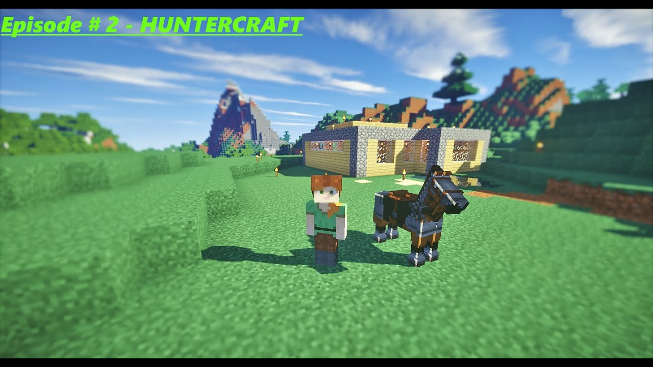 Best Place To Build A House Minecraft Huntercraft 2 Youtube
