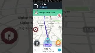 Uber & Grab Driving On 18th April 2017, Singapore