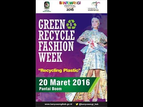 """green-&-recycle-fashion-week-2016""""recycling-plastic""""-pantai-boom-banyuwangi"""