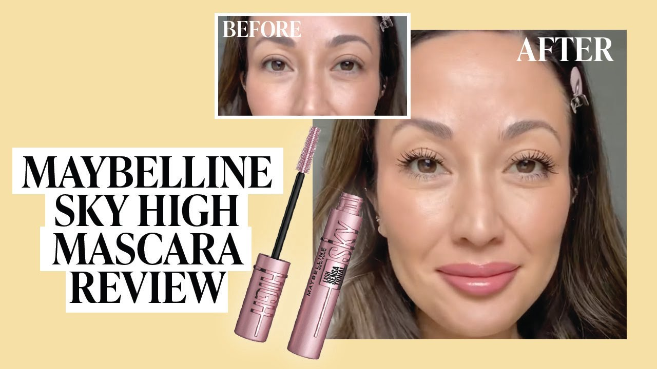 TikTok Famous Mascara? Trying Maybelline Sky High Mascara! | #SHORTS