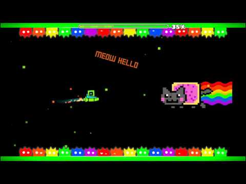 BOSS NYAN CAT-Superarcade-Geometry Dash 2.0