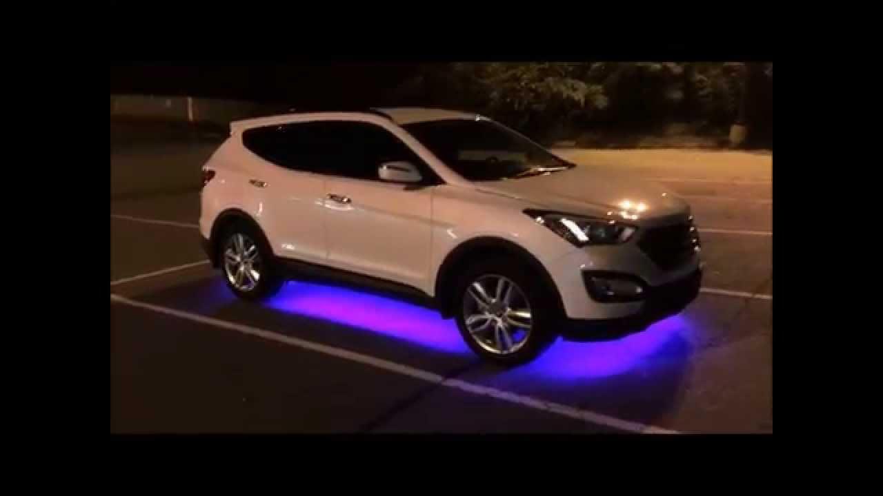2013 Hyundai Sante Fe Turbo - Led Underbody Lights