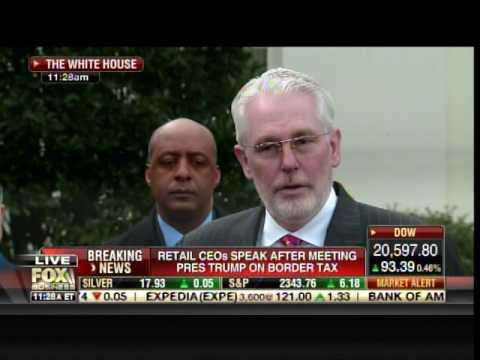 Retail CEOs Praise President Trump after White House Meeting