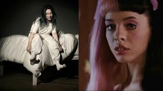 Wish you were gay x Pacify her (mashup) Billie Elish and Melanie Martinez