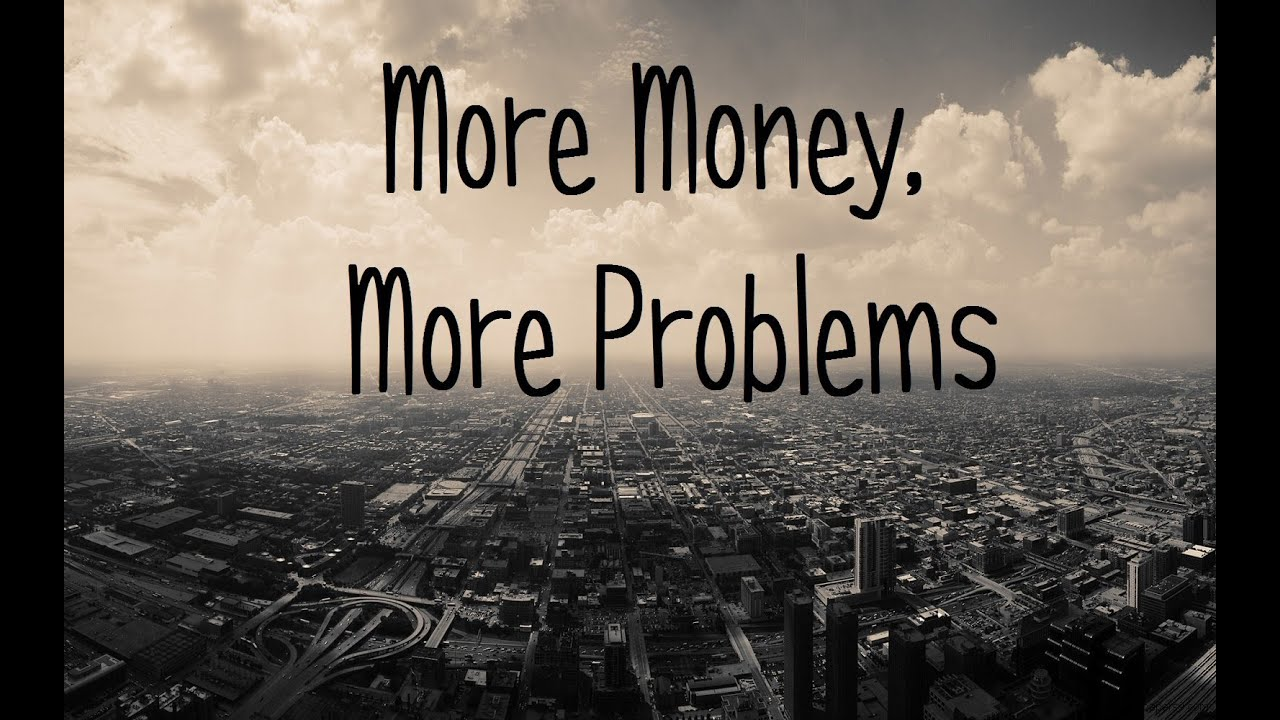 more money more problems Or so the saying goes in our next friends journal book club installment, we'll talk  about the effect of money on our spirituality quakers value.