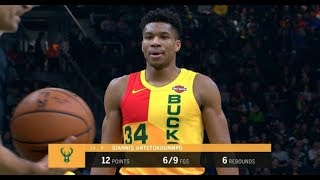 DALLAS MAVERICKS vs MILWAUKEE BUCKS FULL GAME 2019