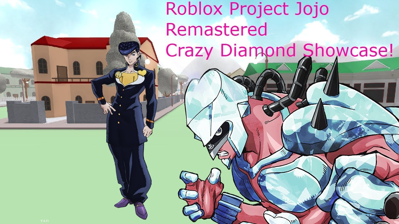 Roblox Project Jojo Remastered Crazy Diamond Showcase!