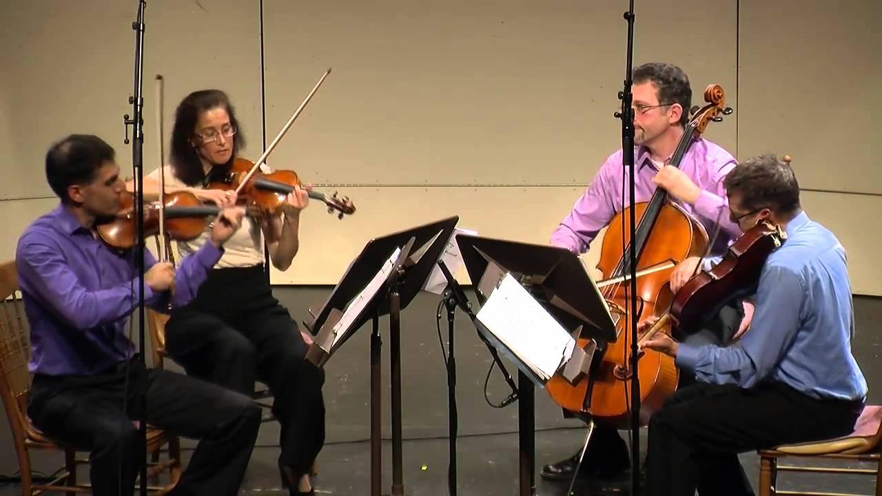 Max Bruch - String Quartet in c minor, Op. 9. 4th mvmt. CVCMF 2013