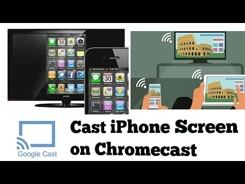 mirror iphone on chromecast how to mirror iphone screen on chromecast 15691