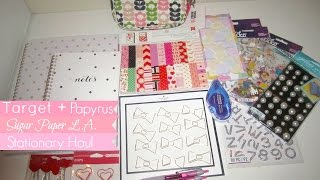Target+Papyrus | Sugar Paper| Stationary Haul Thumbnail