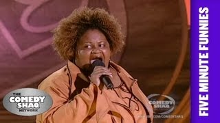 Roz G⎢Two Fat People Can Not Have Sex Together⎢Shaq's Five Minute Funnies⎢Comedy Shaq